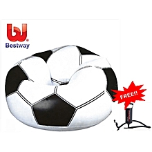 Inflatable Soccer Chair with free Manual Pump
