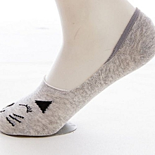1 Pairs Women British Style Invisible Socks Flag Socks  Shallow Mouth Socks WH