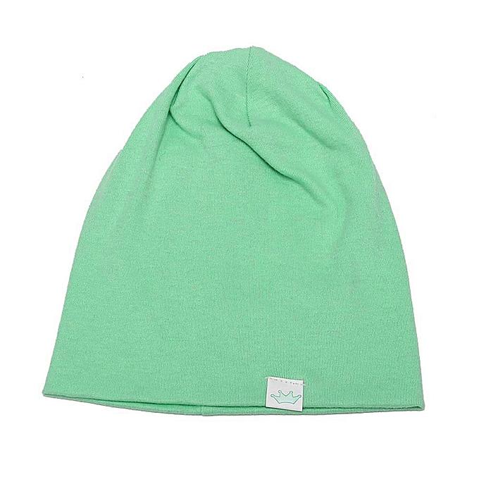 930040677 Toddler Kids Baby Boy Girl Infant Cotton Soft Warm Hat Cap Beanie GN- Light  Green