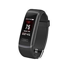 Elephone MGcool Band 5 Continuous Heart Rate Monitor Real Time HR Alarm Notification Remind Smart Bracelet