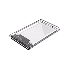 ORICO Tool Free 2.5 inch Clear Box USB3.0 to Sata 3.0 HDD Case Support 2TB UASP Protocol Hard Drive Enclosure  PDmall