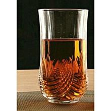 6 Pcs Drinking Glasses Set - Clear