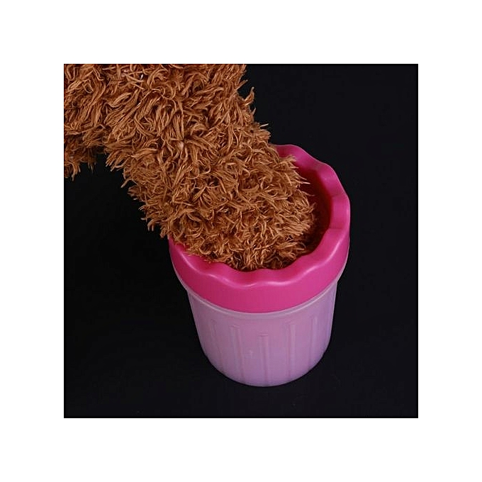 Buy Generic Colour Pink Variation Small Pet Dog Cat Foot Washer