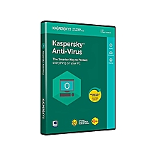 Kaspersky Antivirus 2018 - 1PC + 1Free User