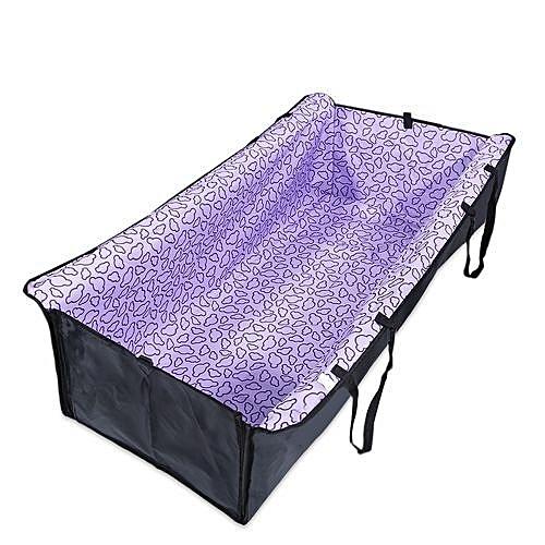 Oxford Fabric Car Pet Dog Seat Cushion Purple Purple