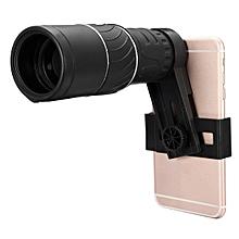 16x52 Zoom Dual Focus Monocular Telescope Lens Camera HD Scope+ Phone Holder
