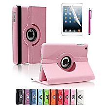 Apple iPad 2/3/4 Case, 360 Degree Rotating Stand Case Cover with Auto Sleep / Wake Feature for iPad 2/3/4(10 Colors)this case is for Apple iPad 2 3 4 (Light Pink) Mll-S