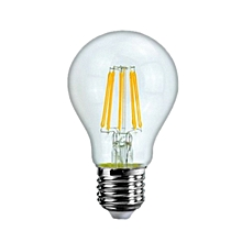 Filament Globe -6 6W LED Lamp E-27 Cool White