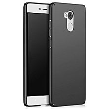 Ultra Slim Fit Shell Hard Plastic Full Protective Anti-Scratch Resistant Cover Case for Xiaomi Redmi 4 Pro / Redmi 4 Prime (Silky Black)  XYX-S