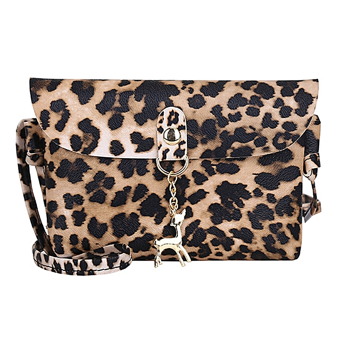 koadong shop Womens Leather Crossbody Bag Leopard Print Shoulder Bags  Messenger Bag Coin Bag 4af4f894a51bc
