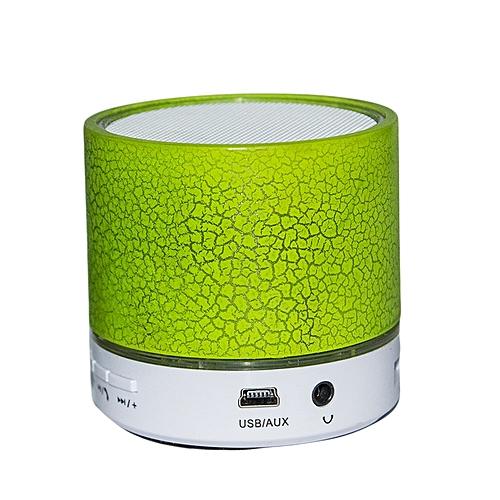 Bluetooth Speaker - Round Shape - Green