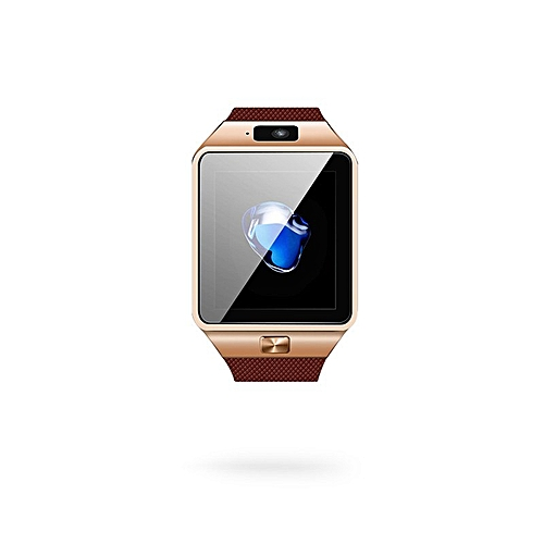 58178464786 Generic New 2018 Smart Watch DZ09 Wrist With Men Bluetooth Electronics SIM  Card Sport Smartwatch Camera For iPhone Android Phone Watch( Golden)