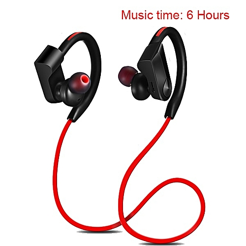 092817290e2 Generic K98 Wireless Headphones Bluetooth Earphone Sport Running Wireless  Stereo Bluetooth headphone Headset with micr for phone(#Red-6 Hours)