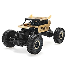 Flytec 9118 1/18 2.4G  4WD Alloy Off Road RC Climbing Car-gold