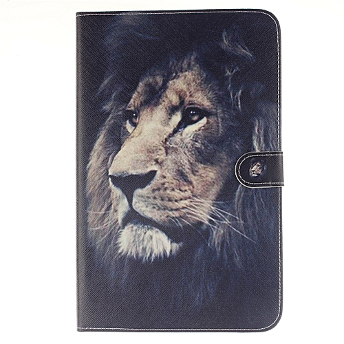 new arrivals f2c72 84262 Samsung Galaxy Tab E 9.6 Case, [Lion] Folio Stand Cover Case for Galaxy Tab  E 9.6