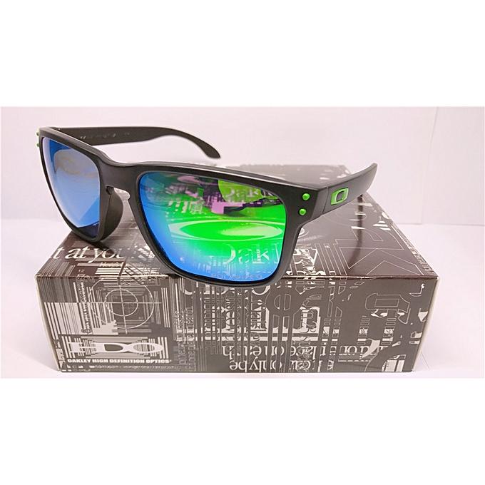 94255e0fb3c Sunglasses Holbrook!!!MatteBlack Green Mercury Polarized Custom Lens