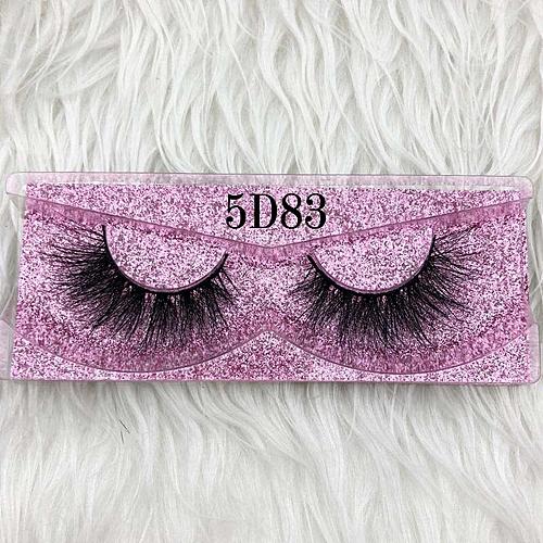 7f0b4c6b645 Generic Mikiwi Thick Long 5D mink eyelashes long lasting mink lashes  natural dramatic volume eyelashes extension 3d false eyelash(C 0.15mm)