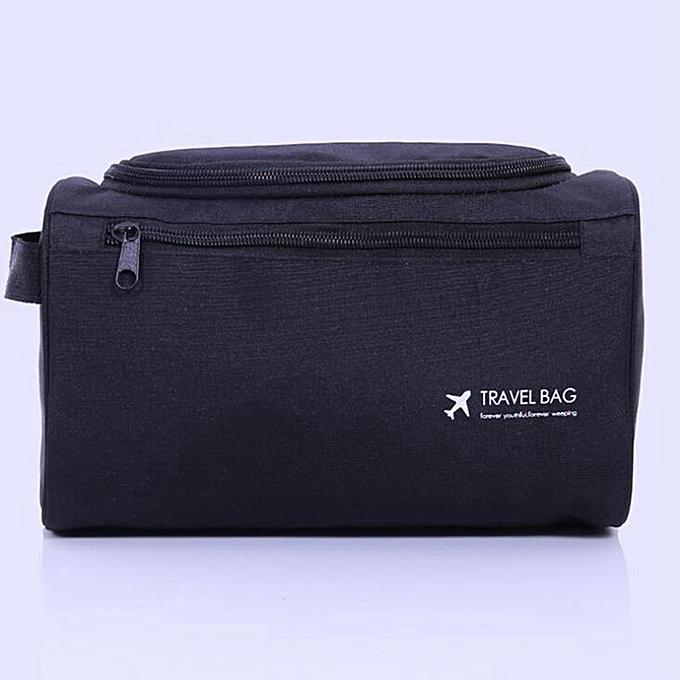 e4670411c70f Casual Men function Cosmetic Bag Business Makeup Case Women Travel Make Up  Zipper Organizer Storage Pouch Toiletry Wash Kit(4)