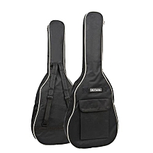 "1pc 40"" / 41"" Portable Oxford Fabric Guitar Bag Waterproof Backpack (Black)"