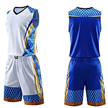 c19b4acd6 Customized Breathable Brand Wholesale Children And Men  039 s Basketball  Team Sport Jersey Set