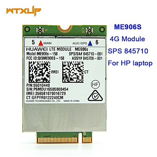 3G 4G LTE CAT4 for HUAWEI ME906S ME906S-158 M 2 Qual band FDD LTE 4G Module  150M SPS 845710-001 for HP Replace ME906E