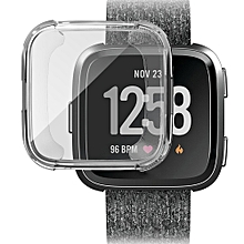 For Fitbit Versa Screen Protector Case Full 360 Protection Gel Bumper Cover