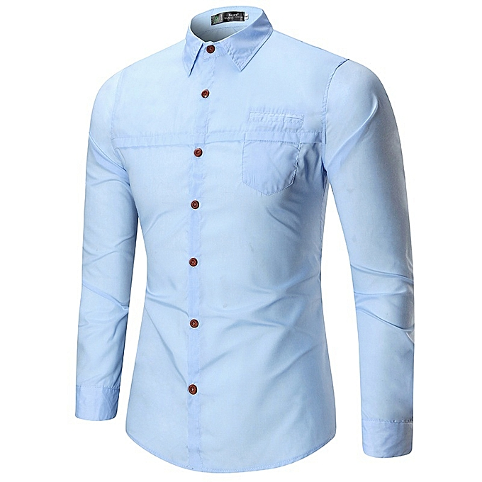 8bb56625 New Stylish Spring Men's Business Shirt Personality Trend
