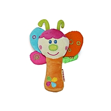Butterfly Rattle Toy - Multicoloured