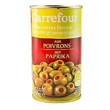 Pepper Filled Olives - 350g