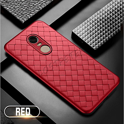 size 40 edf05 69527 For Redmi 5 Fashion Weave Case Luxury Phone Back Cover For Xiaomi Redmi 5  Case Soft Weaving Breathable Housing Shell