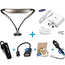 Level U- Samsung Pack 2 + Genuine Charger + Free Accessories