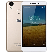 THL T9 Pro, 2GB+16GB, 360 Degrees Fingerprint Identification, 5.5 inch Android 6.0 MTK6737 Quad Core up to 1.25GHz, Network: 4G, BT, WiFi, GPS(Gold)