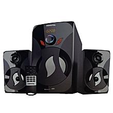 SOUND SYSTEM SHT-1263BT - 3.1 Channel SUBWOOFER - 15000W PMPO - BLUETOOTH/USB/SD/FM DIGITAL RADIO - Black.