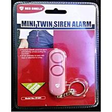 Personal Mini Dual Siren - Pink