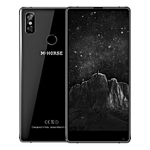 M - HORSE Pure 2 4G Phablet 5.99 inch Android 7.0 MTK6750 Octa Core 4GB RAM 64GB ROM Dual Rear Cameras BLACK