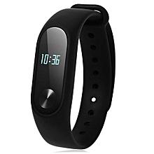 New Model Smart Watch Health Wrist Bracelet Heart Rate Monitor -Black