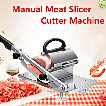Manual Frozen Meat Slicer Beef Mutton Roll Meat Cheese Food Meat Cutter Machine