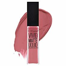 Maybelline vivid matte lipstick- 10 Nude Flush