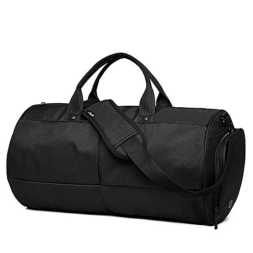 65ba04086c4 Buy Generic Mens Travel Bag Duffle Bag Large Capacity Gym Bag with Separate  Shoes Compartment  black   Best Price   Jumia Kenya