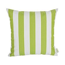 Outdoor Pillow - 45cm x 45cm - Green & White