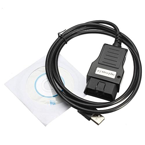 VAG K+CAN Commander 3 6 OBD2 USB Diagnostics Cable For VW Volkswagen Audi  SEAT