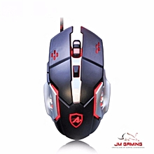 AJ110 6D LED GAMING MOUSE HOT KEY PROGRAMMABLE,BREATHING led color,wired usb mouse mice,dota2,csgo,overwatch,league of legend HT