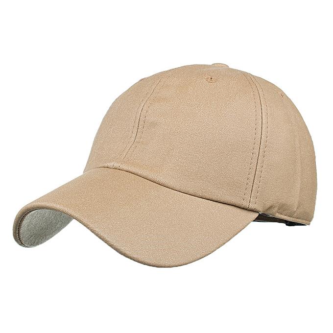 6f591af20876fa Wenrenmok Store Women Baseball Cap Snapback Hat Hip-Hop Adjustable KH-Khaki