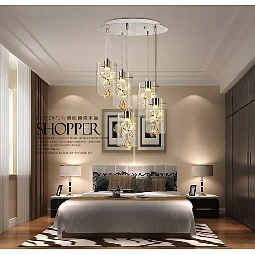 Light Live Crystal Creativity Modern Chandeliers Ceiling