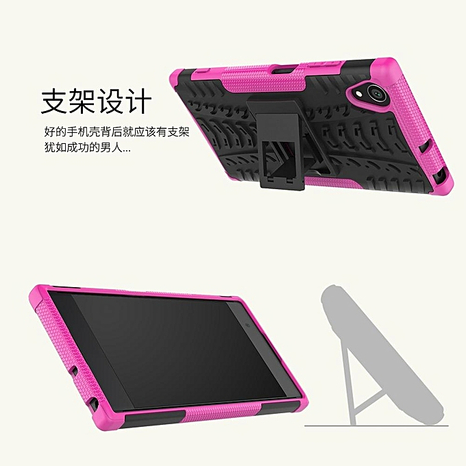 Fashion Tough Shockproof Armor Dazzle Style Back Phone Case Cover With Kickstand For .