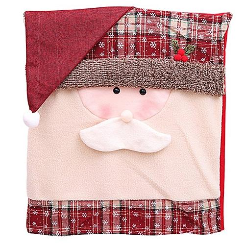 Santa Hat Chair Covers Santa Claus Hat Chair Back Covers Kitchen Chair Covers Colorful Santa Claus