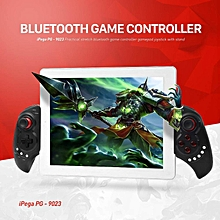 LEBAIQI iPega PG-9023 Wireless Bluetooth Game Controller Gamepad Joystick with Stretch Bracket for iOS Android System