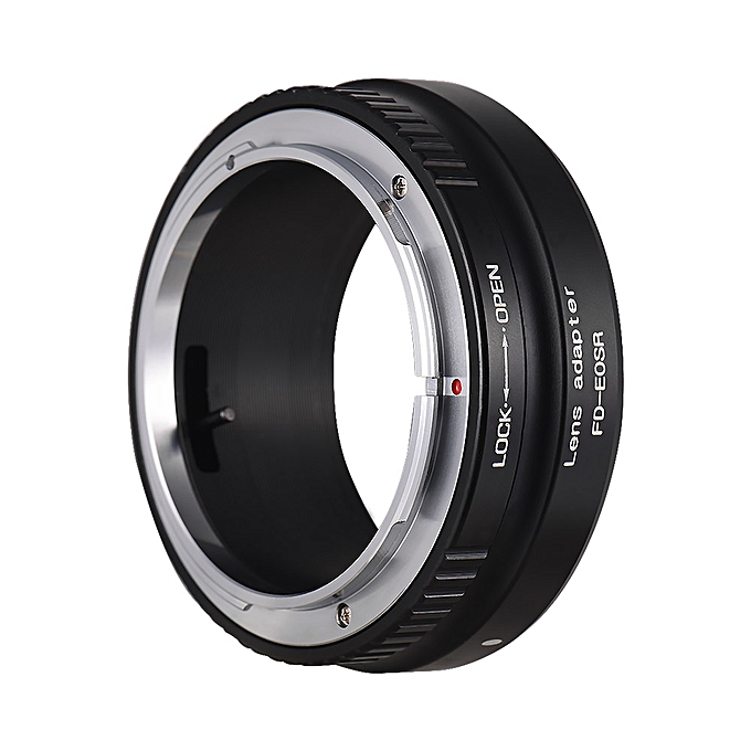 Generic Lens Mount Adapter Ring Aluminum Alloy for FD Lens to EOS R