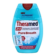 Toothpaste Pure Breath  - 75ml
