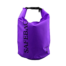 Outdoor Shoulder Bags Drifting Waterproof Tourist Camping Bags 5L Purple